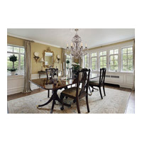 Savoy House Florita 6 Light Chandelier in Silver Lace 1-9720-6-176 alternative photo thumbnail
