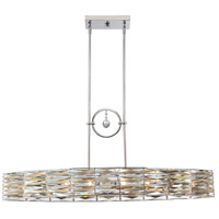 Savoy House 1-973-6-11 Lancaster 6 Light 41 inch Polished Chrome Island Light Ceiling Light alternative photo thumbnail
