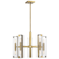 Winfield 10 Light 25 inch Warm Brass Chandelier Ceiling Light