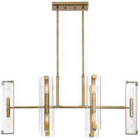 Savoy House 1-9773-12-322 Winfield 12 Light 38 inch Warm Brass Trestle Ceiling Light alternative photo thumbnail