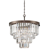 Savoy House 1-9800-6-28 Tierney 6 Light 25 inch Oiled Burnished Bronze Chandelier Ceiling Light alternative photo thumbnail