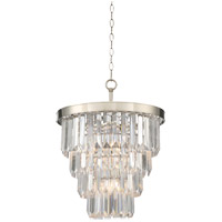 Savoy House Tierney 4 Light Chandelier in Polished Nickel 1-9805-4-109