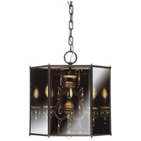 Endicott 3 Light 21 inch Shadow Smoke Chandelier Ceiling Light