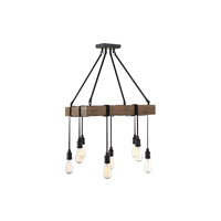 Savoy House 1-991-8-41 Burgess 8 Light 22 inch Durango Pendant Ceiling Light