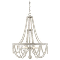 Savoy House 1-9995-5-99 Panola 5 Light 24 inch Provence Chandelier Ceiling Light