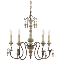 Savoy House 1-9997-5-94 Dauphin 5 Light 26 inch Avignon Chandelier Ceiling Light