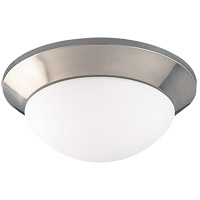 Savoy House Signature 1 Light Flush Mount in Satin Nickel 1001-SN