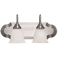 Savoy House Summergrove 2 Light Bath Bar in Satin Nickel 1079-2SN