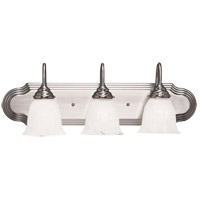 Summergrove 3 Light 24 inch Satin Nickel Bath Bar Wall Light