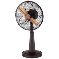 Sleep Fan English Bronze 26 inch Table Top Fan