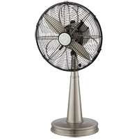 Sleep Fan Satin Nickel 26 inch Portable Fan