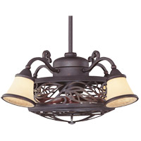 Savoy House Bay St. Louis 4 Light Outdoor Fan d Lier in Antique Copper 14-260-FD-16
