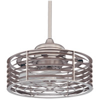 Savoy House Seaside Outdoor Fan d Lier in Satin Nickel 14-325-FD-SN
