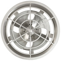 Savoy House 14-325-FD-SN Sea Side 14 inch Satin Nickel with Silver Blades Outdoor Fan D Lier alternative photo thumbnail