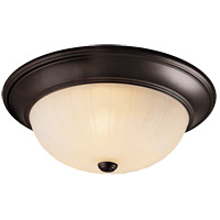 Savoy House 15264-13 Signature 3 Light 15 inch English Bronze Flush Mount Ceiling Light