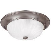 Savoy House 15264-SN Signature 3 Light 15 inch Satin Nickel Flush Mount Ceiling Light