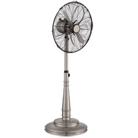 Sleep Fan Satin Nickel 48 inch Portable Fan