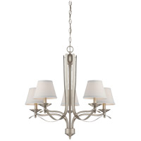 Savoy House Maremma 5 Light Chandelier in Pewter 1P-2170-5-69