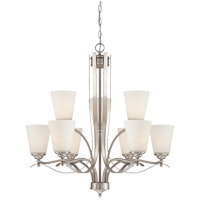 Savoy House Maremma 9 Light Chandelier in Pewter 1P-2171-9-69