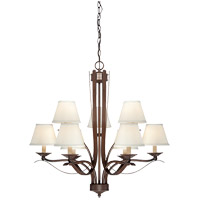 Maremma 9 Light 31 inch Espresso Chandelier Ceiling Light