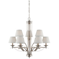 Savoy House Maremma 9 Light Chandelier in Pewter 1P-2172-9-69