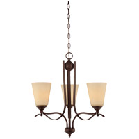 Savoy House Maremma 3 Light Chandelier in Espresso 1P-2178-3-129