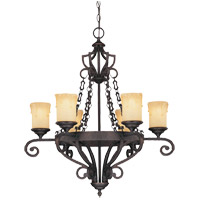 Savoy House PPP Glen Abbey  6 Lt Chandelier 1P-50002-6-25
