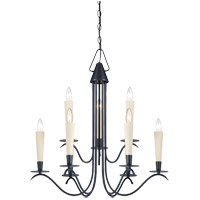 Savoy House Plymouth 9 Light Chandelier in Aged Iron 1P-5480-9-55