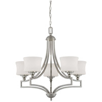 Terrell 5 Light 26 inch Satin Nickel Chandelier Ceiling Light