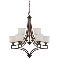Terrell 9 Light 31 inch English Bronze Chandelier Ceiling Light