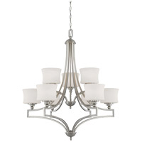 Savoy House Terrell 9 Light Chandelier in Satin Nickel 1P-7211-9-SN
