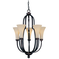 Savoy House Marcelina 5 Light Chandelier in English Bronze 1P-960-5-13 photo thumbnail
