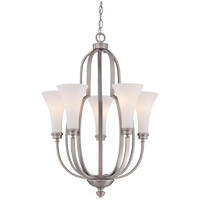 Savoy House Marcelina 5 Light Chandelier in Pewter 1P-960-5-69