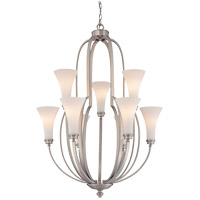 Savoy House Marcelina 9 Light Chandelier in Pewter 1P-961-9-69