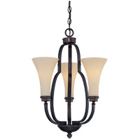 Savoy House Marcelina 3 Light Chandelier in English Bronze 1P-967-3-13