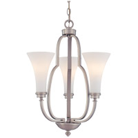 Savoy House Marcelina 3 Light Chandelier in Pewter 1P-967-3-69