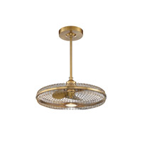Savoy House 29-FD-122-322 Wetherby 26 inch Warm Brass with Gold Blades Fan D lier