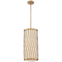 Spinnaker 2 Light 10 inch Warm Brass Foyer Lantern Ceiling Light