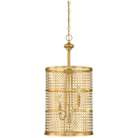 Savoy House Fairview 3 Light Foyer in Rubbed Brass 3-1282-3-325