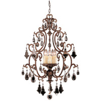 Savoy House Florence 5 Light Foyer Pendant in New Tortoise Shell 3-1406-5-56