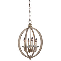 Forum 4 Light 17 inch Gold Dust Foyer Lantern Ceiling Light