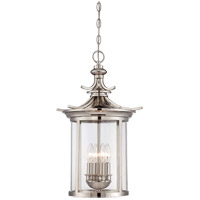 Savoy House Epping 4 Light Foyer in Polished Nickel 3-2180-4-109