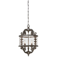 Savoy House 3-2501-4-176 Athena 4 Light 16 inch Silver Lace Foyer Ceiling Light photo thumbnail