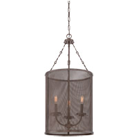 Savoy House Nouvel 3 Light Foyer Light in Galaxy Bronze 3-2506-3-42