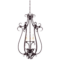 Savoy House Brandywine 3 Light Foyer Pendant in New Tortoise Shell 3-2898-3-56
