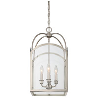 Savoy House 3-3055-4-109 Garrett 4 Light 12 inch Polished Nickel Foyer Light Ceiling Light alternative photo thumbnail
