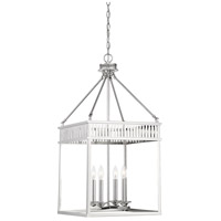 Savoy House 3-3104-4-109 William 4 Light 16 inch Polished Nickel Foyer Ceiling Light