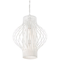 Savoy House Capra 2 Light Pendant in White 3-312-2-80 photo thumbnail