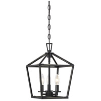 Savoy House 3-320-3-44 Townsend 3 Light 10 inch Classic Bronze Foyer Light Ceiling Light