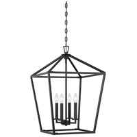 Savoy House 3-321-4-44 Townsend 4 Light 17 inch Classic Bronze Foyer Lantern Ceiling Light
